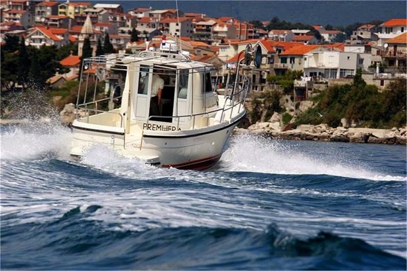 private boat excursion from porec