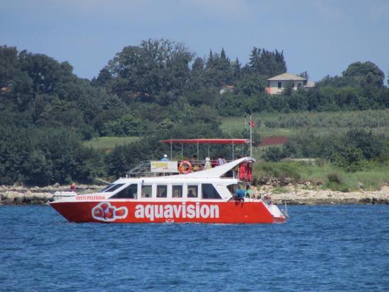 umag boat excursion