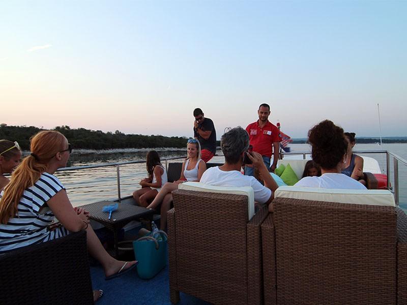 Fazana brijuni boat tour